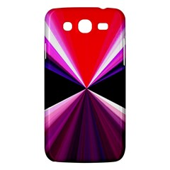 Red And Purple Triangles Abstract Pattern Background Samsung Galaxy Mega 5 8 I9152 Hardshell Case  by Nexatart
