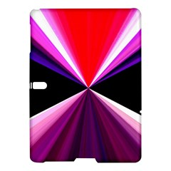Red And Purple Triangles Abstract Pattern Background Samsung Galaxy Tab S (10 5 ) Hardshell Case  by Nexatart