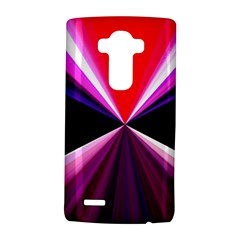 Red And Purple Triangles Abstract Pattern Background Lg G4 Hardshell Case by Nexatart