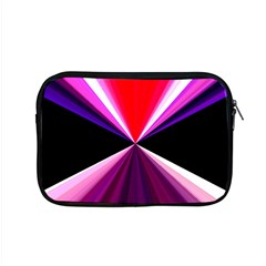Red And Purple Triangles Abstract Pattern Background Apple Macbook Pro 15  Zipper Case by Nexatart