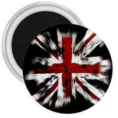 British Flag 3  Magnets by Nexatart