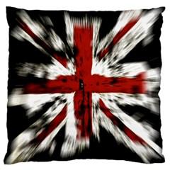 British Flag Large Cushion Case (one Side) by Nexatart