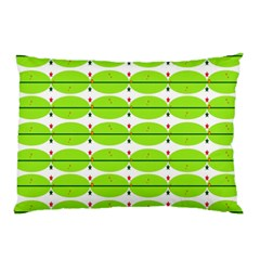 Abstract Pattern Background Wallpaper In Multicoloured Shapes And Stars Pillow Case by Nexatart