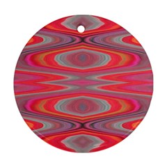Hard Boiled Candy Abstract Ornament (Round)