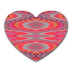 Hard Boiled Candy Abstract Heart Mousepads by Nexatart