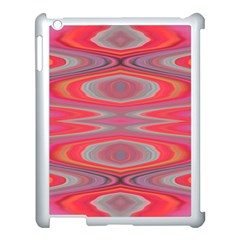 Hard Boiled Candy Abstract Apple Ipad 3/4 Case (white) by Nexatart