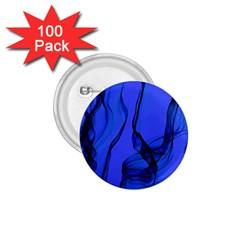Blue Velvet Ribbon Background 1 75  Buttons (100 Pack)  by Nexatart