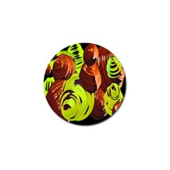 Neutral Abstract Picture Sweet Shit Confectioner Golf Ball Marker (10 Pack) by Nexatart