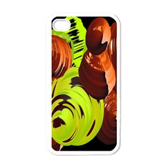 Neutral Abstract Picture Sweet Shit Confectioner Apple Iphone 4 Case (white) by Nexatart