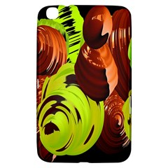 Neutral Abstract Picture Sweet Shit Confectioner Samsung Galaxy Tab 3 (8 ) T3100 Hardshell Case  by Nexatart
