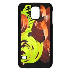 Neutral Abstract Picture Sweet Shit Confectioner Samsung Galaxy S5 Case (black) by Nexatart