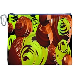 Neutral Abstract Picture Sweet Shit Confectioner Canvas Cosmetic Bag (xxxl) by Nexatart