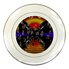Diamond Manufacture Porcelain Plates