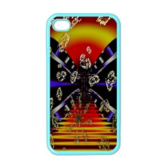 Diamond Manufacture Apple Iphone 4 Case (color) by Nexatart