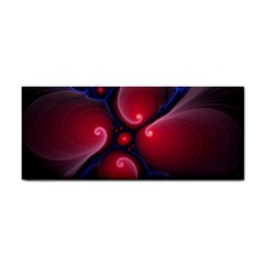 Color Fractal Pattern Cosmetic Storage Cases by Nexatart