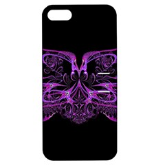Beautiful Pink Lovely Image In Pink On Black Apple Iphone 5 Hardshell Case With Stand by Nexatart