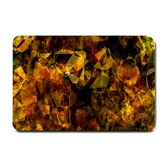 Autumn Colors In An Abstract Seamless Background Small Doormat  by Nexatart