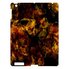 Autumn Colors In An Abstract Seamless Background Apple Ipad 3/4 Hardshell Case by Nexatart