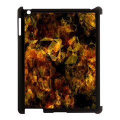 Autumn Colors In An Abstract Seamless Background Apple Ipad 3/4 Case (black) by Nexatart