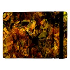 Autumn Colors In An Abstract Seamless Background Samsung Galaxy Tab Pro 12 2  Flip Case by Nexatart