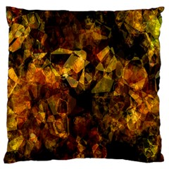 Autumn Colors In An Abstract Seamless Background Standard Flano Cushion Case (two Sides) by Nexatart