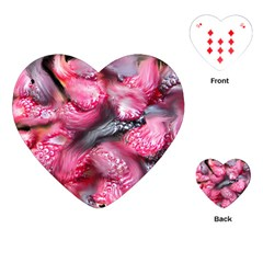 Raspberry Delight Playing Cards (heart)  by Nexatart