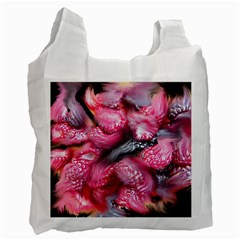 Raspberry Delight Recycle Bag (one Side) by Nexatart