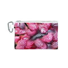 Raspberry Delight Canvas Cosmetic Bag (s) by Nexatart