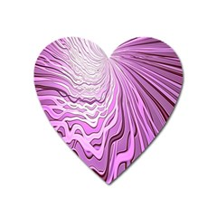 Light Pattern Abstract Background Wallpaper Heart Magnet by Nexatart