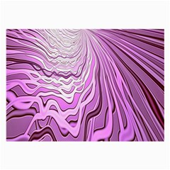 Light Pattern Abstract Background Wallpaper Large Glasses Cloth (2 Side) by Nexatart