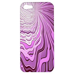 Light Pattern Abstract Background Wallpaper Apple Iphone 5 Hardshell Case by Nexatart