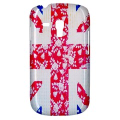 British Flag Abstract British Union Jack Flag In Abstract Design With Flowers Galaxy S3 Mini by Nexatart