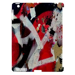 Abstract Graffiti Background Wallpaper Of Close Up Of Peeling Apple iPad 3/4 Hardshell Case (Compatible with Smart Cover) by Nexatart