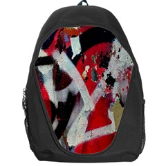 Abstract Graffiti Background Wallpaper Of Close Up Of Peeling Backpack Bag by Nexatart