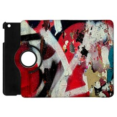 Abstract Graffiti Background Wallpaper Of Close Up Of Peeling Apple Ipad Mini Flip 360 Case by Nexatart