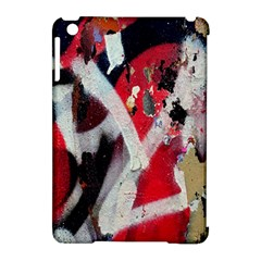 Abstract Graffiti Background Wallpaper Of Close Up Of Peeling Apple Ipad Mini Hardshell Case (compatible With Smart Cover) by Nexatart