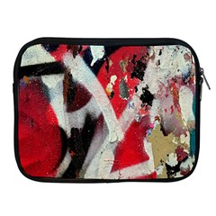 Abstract Graffiti Background Wallpaper Of Close Up Of Peeling Apple Ipad 2/3/4 Zipper Cases by Nexatart