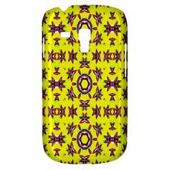 Yellow Seamless Wallpaper Digital Computer Graphic Galaxy S3 Mini by Nexatart