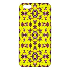 Yellow Seamless Wallpaper Digital Computer Graphic iPhone 6 Plus/6S Plus TPU Case by Nexatart