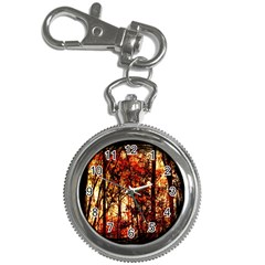 Forest Trees Abstract Key Chain Watches by Nexatart