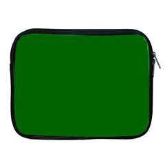 Dark Plain Green Apple Ipad 2/3/4 Zipper Cases by Jojostore