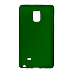Dark Plain Green Galaxy Note Edge by Jojostore