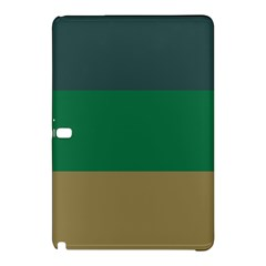 Blue Green Brown Samsung Galaxy Tab Pro 12.2 Hardshell Case by Jojostore