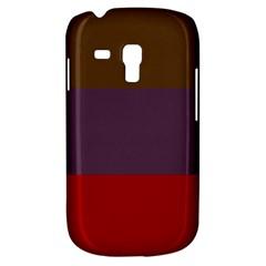 Brown Purple Red Galaxy S3 Mini by Jojostore