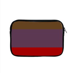 Brown Purple Red Apple Macbook Pro 15  Zipper Case by Jojostore