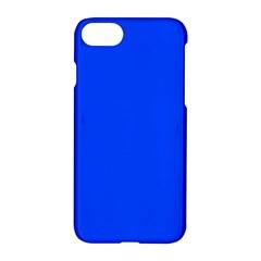 Plain Blue Apple Iphone 7 Hardshell Case by Jojostore