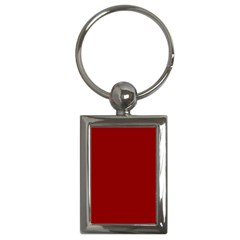 Plain Blue Red Key Chains (rectangle)  by Jojostore