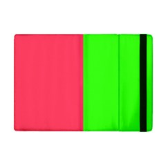 Neon Red Green Apple Ipad Mini Flip Case by Jojostore