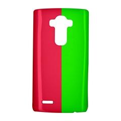Neon Red Green Lg G4 Hardshell Case by Jojostore