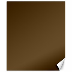 Plain Brown Canvas 20  X 24   by Jojostore